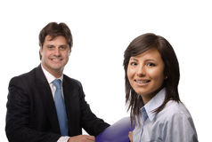 Happy business people Royalty Free Stock Photography
