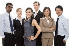 Happy Business Team 3 Stock Images