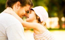 Happy family, happiness Stock Photos