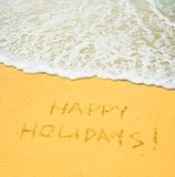 Happy holidays Royalty Free Stock Image