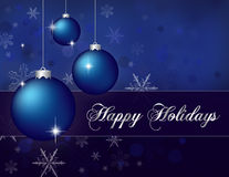 Happy Holidays Royalty Free Stock Images