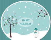 Happy Holidays ! Stock Photography