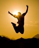 Happy jump Royalty Free Stock Image