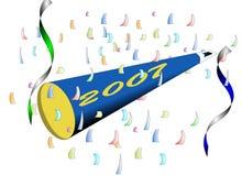 Happy New Year - 2007 Royalty Free Stock Photo