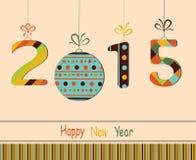 Happy New Year 2015. Stock Photos