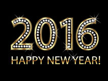 2016 Happy new year Stock Photography