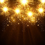 Happy New Year 2015 vector celebration background Royalty Free Stock Photos