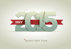 2015 Happy New Year Royalty Free Stock Photos