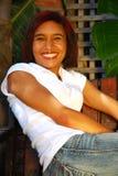 Happy smiling woman Stock Photo