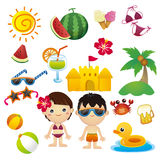 Happy Summer Royalty Free Stock Photography
