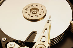 Hard Disk Drive is open Royalty Free Stock Photos