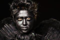 Harpy - mystical creature Stock Photos