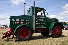 Haulage timber truck Royalty Free Stock Photos