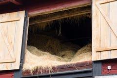 Hay on the loft Stock Image