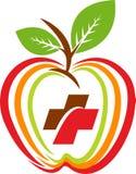 Health apple logo Royalty Free Stock Image