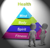 Health Symbol Shows Fitness Strength And Wellbeing Stock Photos