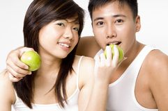 Healthy Couple 5 Stock Image