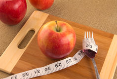 Healthy diet and nutrition for weight loss Royalty Free Stock Images