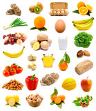 Healthy food, fruits and vegetables Royalty Free Stock Images