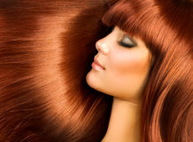 Healthy Hair Royalty Free Stock Photography