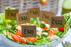 Healthy salad with no preservatives Royalty Free Stock Photos