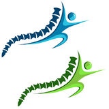 Healthy Spine Icon Stock Photo