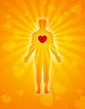 Heart, body & Soul Stock Photo