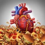 Heart Disease risk Stock Images