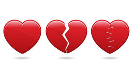 Heart Icons EPS Stock Images