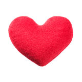 Heart pillow Stock Images