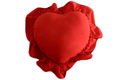 Heart Shaped Pillow. Stock Images