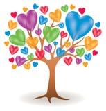 Heart Tree Logo Stock Photos