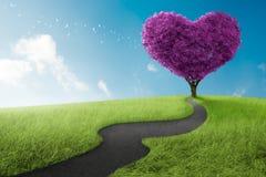 Heart tree Royalty Free Stock Image