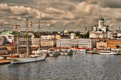 Helsinki Harbor Royalty Free Stock Image