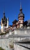 Herbst am Peles-Schloss, Rumänien Lizenzfreie Stockfotografie