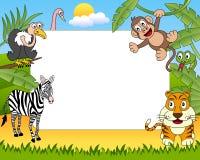 Het Afrikaanse Frame van de Foto van Dieren [2] Stock Foto's