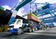 Het door:sturen van de haven Stock Afbeeldingen