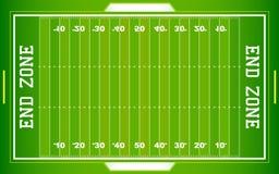 Het Gebied van de Voetbal NFL Royalty-vrije Stock Afbeelding