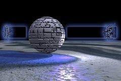 Het gebiedbanner van de steen Stock Afbeeldingen