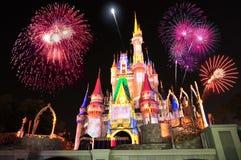 Het Kasteel van Cinderella van Disney Royalty-vrije Stock Fotografie