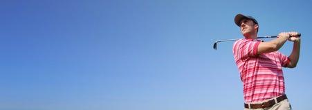 Het Malplaatje van de Reclame van de Banner van het Web Stock Fotografie