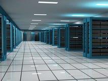 Het ontvangen en de Zaal van de Server Stock Foto's