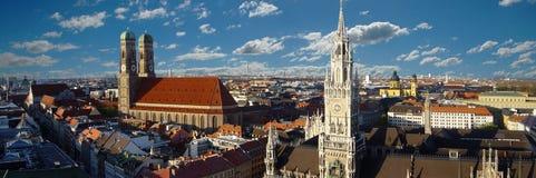 Het Panorama van München Stock Fotografie