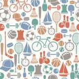 Het patroon van de sport Stock Foto
