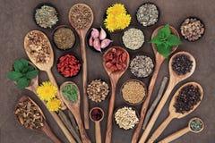 Het Super Voedsel van leverdetox Royalty-vrije Stock Foto's