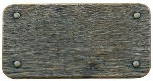Het teken houten achtergrond van Nameboard Royalty-vrije Stock Fotografie