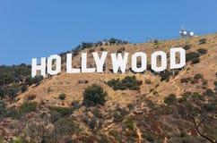 Het Teken van Hollywood Stock Afbeeldingen