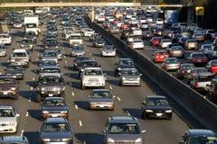 Heure de pointe à Los Angeles Image stock