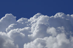 High Altitude Clouds Stock Photo