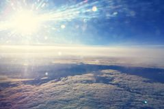 High altitude sky Stock Photography